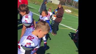 Chelsey Hawkins 2017 6u Football Highlights