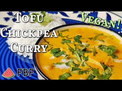 Vegan Tofu Chickpea Curry