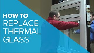Replacing Thermal Glass(This video shows you how to replace a thermal unit in your casement or slider window., 2010-12-08T14:54:11.000Z)
