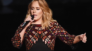 Adele Opens 2017 Grammy Awards With FLAWLESS