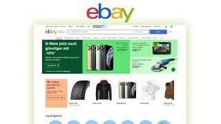 Wie funktioniert eBay? (Das Große Tutorial) Einfach Produkte kaufen & verkaufen screenshot 1