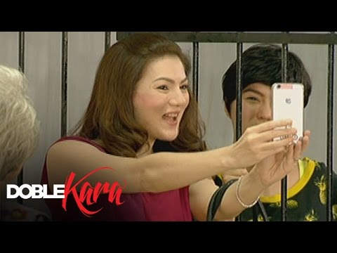 Doble Kara: Annoying Lucille: Lucille visit Sara in jail and tries to annoy her.  Subscribe to ABS-CBN Entertainment channel! - http://bit.ly/ABS-CBNEntertainment  Watch the full episodes of Doble Kara on TFC.TV  http://bit.ly/DobleKara-TFCTV and on IWANT.TV for Philippine viewers, click: http://bit.ly/DobleKara-IWANTV  Visit our official website!  http://entertainment.abs-cbn.com/tv/home http://www.push.com.ph  Facebook: http://www.facebook.com/ABSCBNnetwork  Twitter:  https://twitter.com/ABSCBN https://twitter.com/abscbndotcom Instagram: http://instagram.com/abscbnonline
