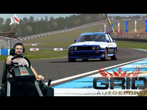 Вечер автоспорта GRID Autosport на руле Fanatec ClubSport