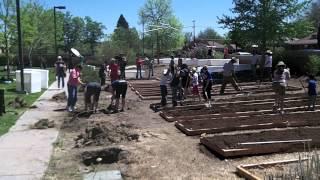 Urbiculture Community Farms Columbian School Earth Day 2012