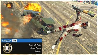 LEVEL 1300 TRYHARD GOT HUMILIATED BY AN RC CAR (GTA Online Trolling)