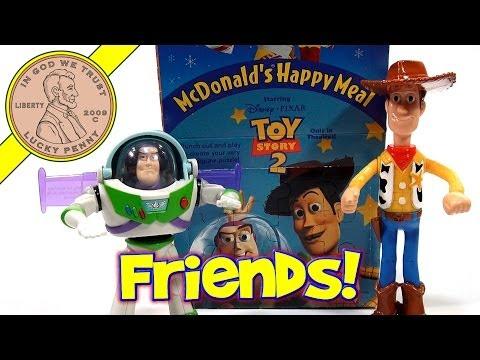 Disney-Pixar Toy Story 2 1999 Set, McDonald's Retro Happy Meal Toy Series