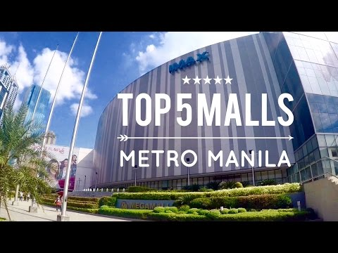Top 5 Must Visit Shopping Malls Metro Manila Philippines Tour Overview by HourPhilippines.com