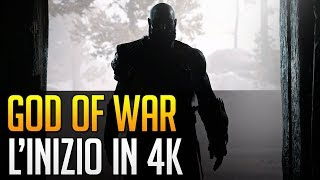 God of War: i primi 18 minuti in 4K su PS4 Pro