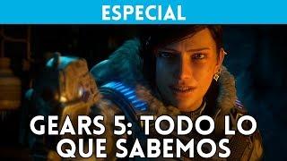GEARS OF WAR 5 (Xbox One, PC) TODO lo que SABEMOS del GEARS MÁS AMBICIOSO