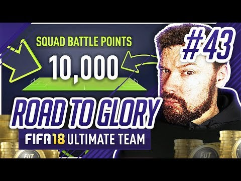 MAX POINTS IN SQUAD BATTLES!! - #FIFA18 Road to Glory! #43 Ultimate Team