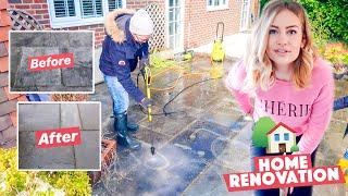 DIY HOME RENOVATION - JET WASHING