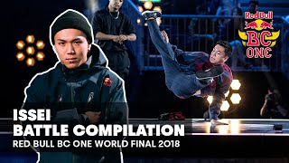 Issei Battle Compilation | Red Bull BC One World Final 2018
