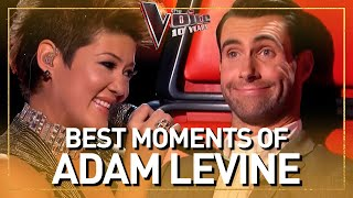ADAM LEVINE'S BEST moments as a coach in 16 SEASONS of The Voice