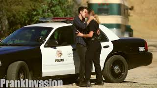 [ Kissing Prank   Cops Edition   Prank Invasion 2016 ]