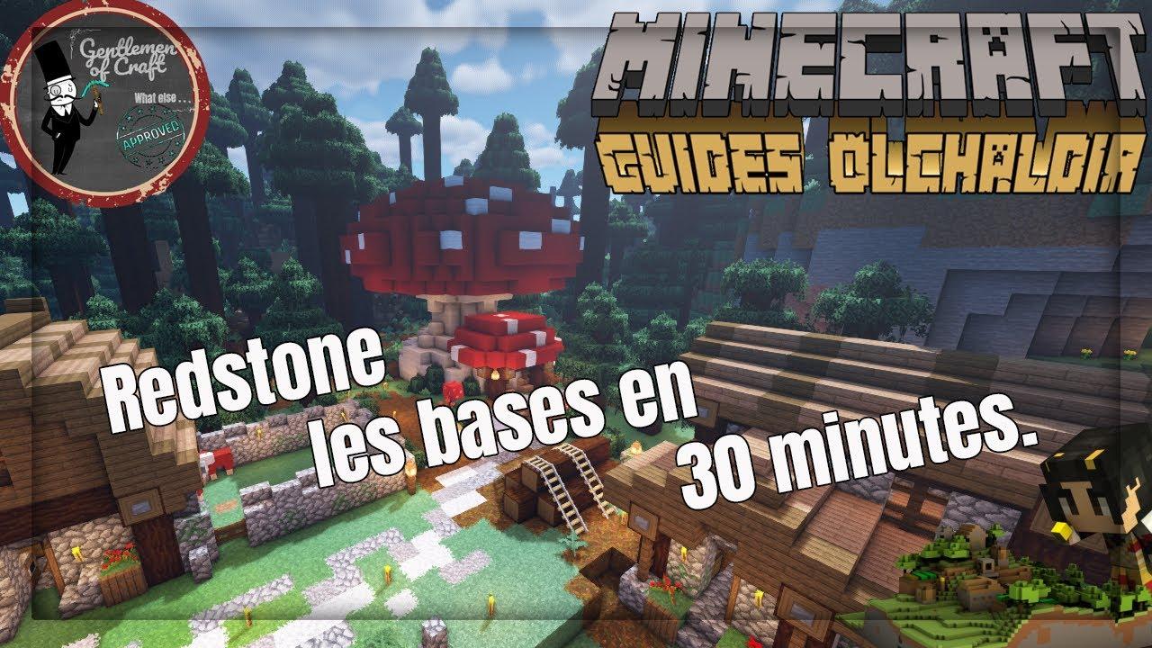 08 Poser Les Bases Redstone En 30 Minutes Minecraft 114 Guide Avancé