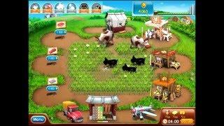 Farm frenzy 2 only GOLD (level 60) Butter street 1 gameplay Веселая ферма 2 Масляная 1 (уровень 60)