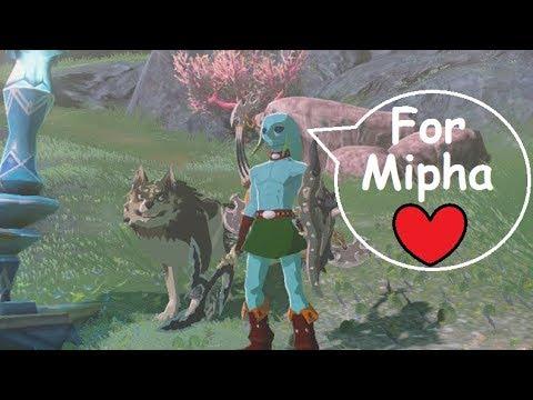 Zora Link Mikau Makes A Splash Mod Zelda Botw Youtube