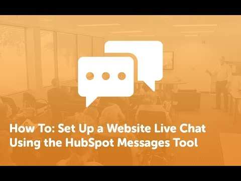 How To: Set Up A Website Chatbot [HubSpot] 💬