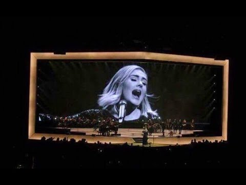 Adele 25 Tour | One And Only, Rumour Has It, Water Under The Bridge | Staples Center Aug 2016