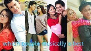 Which couple musically is best Puja ra Aakash ,Paul ra Aanchal,Barsha ra Sanjog and Aasma ra Saroj.