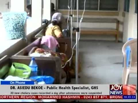 30 new cholera cases recorded - News Desk (22-8-14)