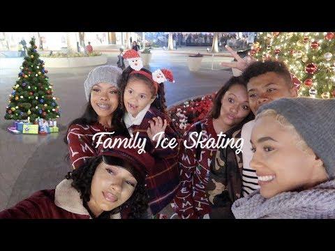 Family Ice Skating Vlogmas 🎄❤️❄️☃️