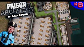 ESCOLINHA DA PRISÃO E PROBLEMAS LOGÍSTICOS?  ? - PRISON ARCHITECT #8 - (Gameplay/PC/PTBR) HD