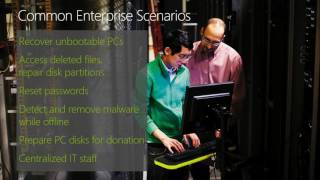 mMS 2013 Making PC Recovery Easier with the Microsoft Diagnostics and Recovery Toolset