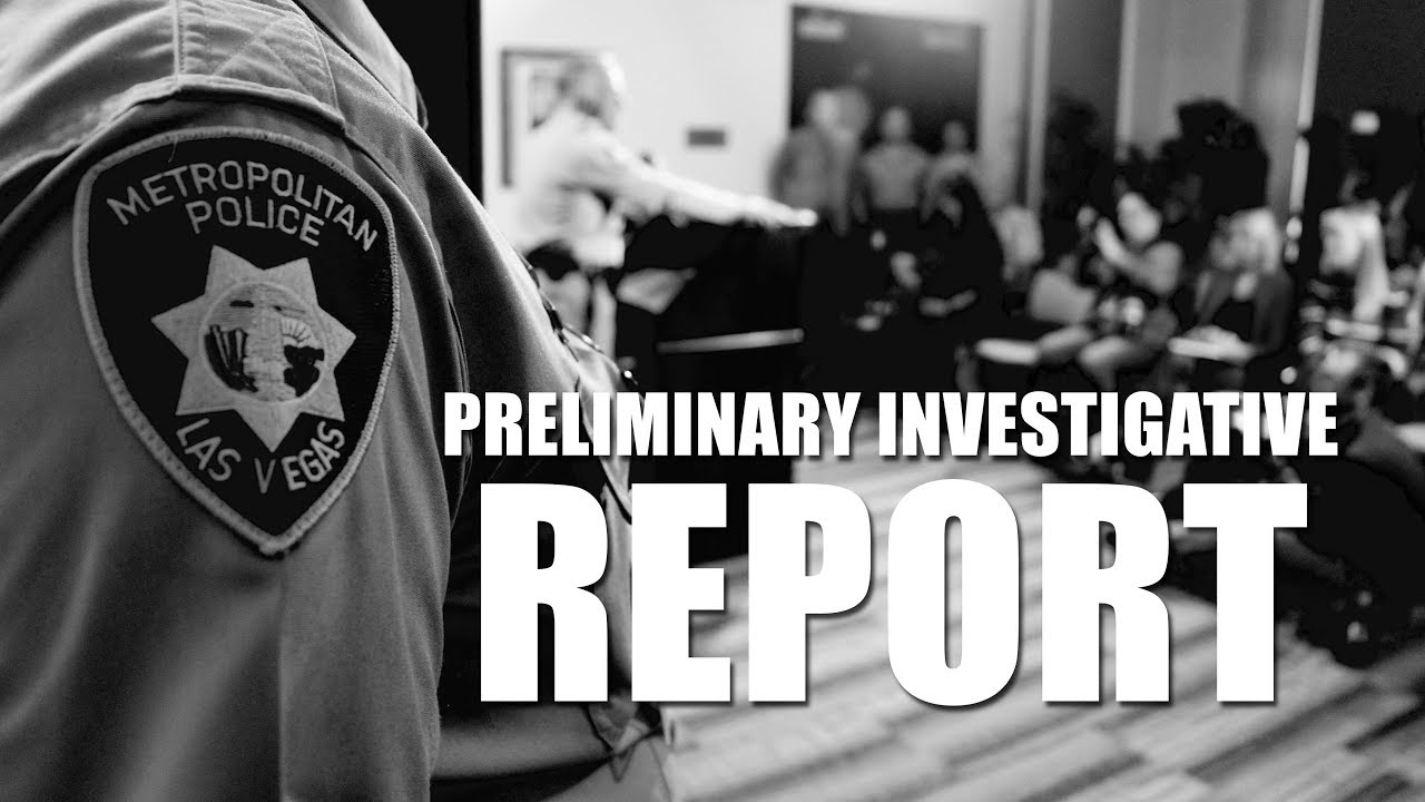 Preliminary Investigative Report on the 1-October Shooting