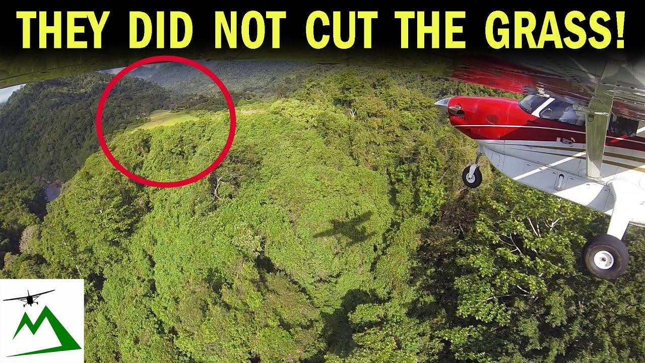 REMOTE MOUNTAIN RUNWAY Landing in Papua New Guinea | Bush Pilot Flight Vlog