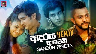 Adaraya Agamaki (Remix) - Sandun Perera (Zack N)   Sinhala Remix Songs   Sinhala DJ Songs   Dj Songs