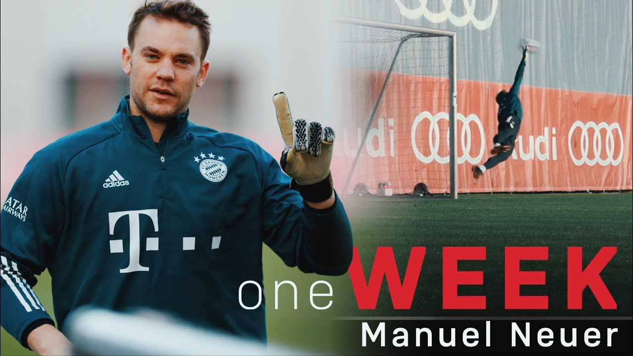 One week of training with Manuel Neuer