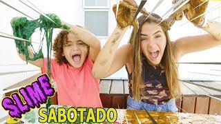 DESAFIO DA ROLETA MISTERIOSA DE SLIME SABOTADO!! (MYSTERY WHEEL OF SLIME CHALLENGE) #2