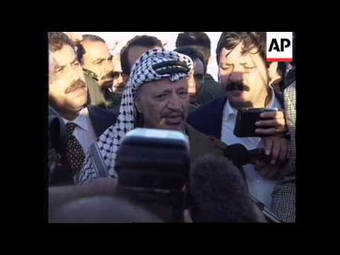 EGYPT: YASSER ARAFAT ARRIVES HOME FOLLOWING INCONCLUSIVE SUMMIT