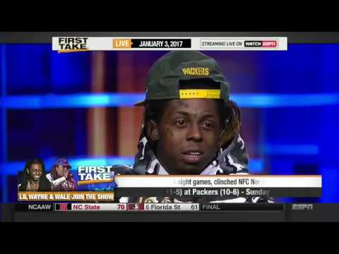 LIL WAYNE AND WALE FULL INTERVIEW on FIRST TAKE
