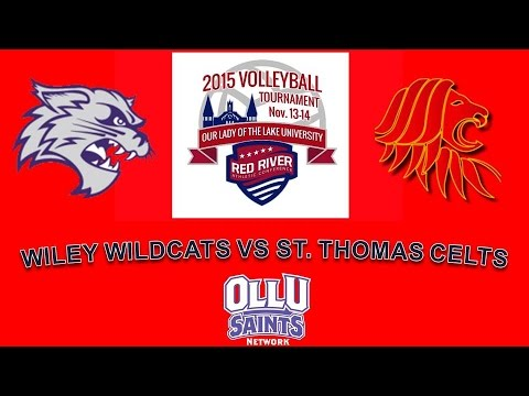 2015 RRAC Volleyball Tournament- #3 Wiley College vs #2 St. Thomas