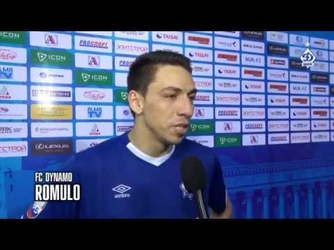 INTELLI vs DYNAMO. After the match. Romulo & Nando. 02/10/2014