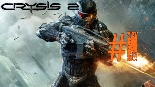 Lets Play Crysis 2 Deutsch Part 1 German Walkthrough Gameplay 1080p
