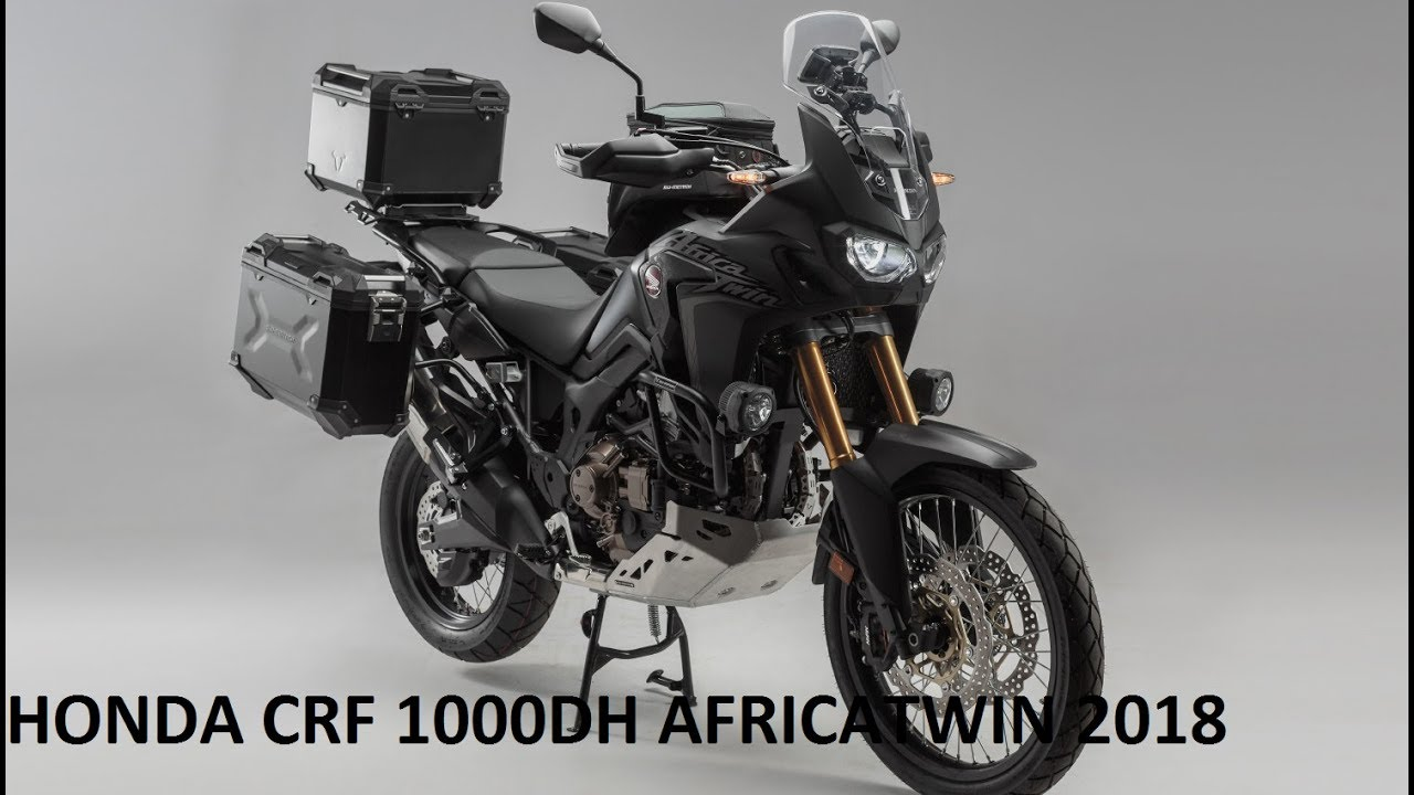 honda crf 1000dh africa twin 2018 youtube. Black Bedroom Furniture Sets. Home Design Ideas