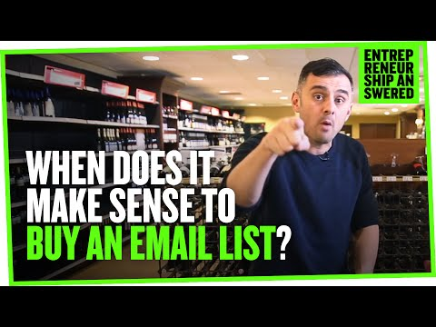 When Does It Make Sense to Buy an Email List?
