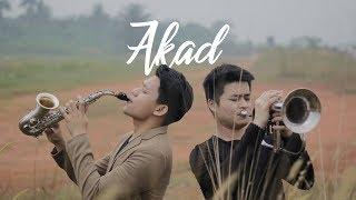 AKAD - PAYUNG TEDUH ( Saxophone & Flugelhorn Cover by Garry Lesmana & Rigen EriHandoyo
