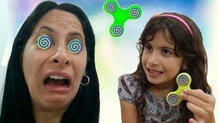 Hipnotizei a minha mãe com meu Spinner Mágico!