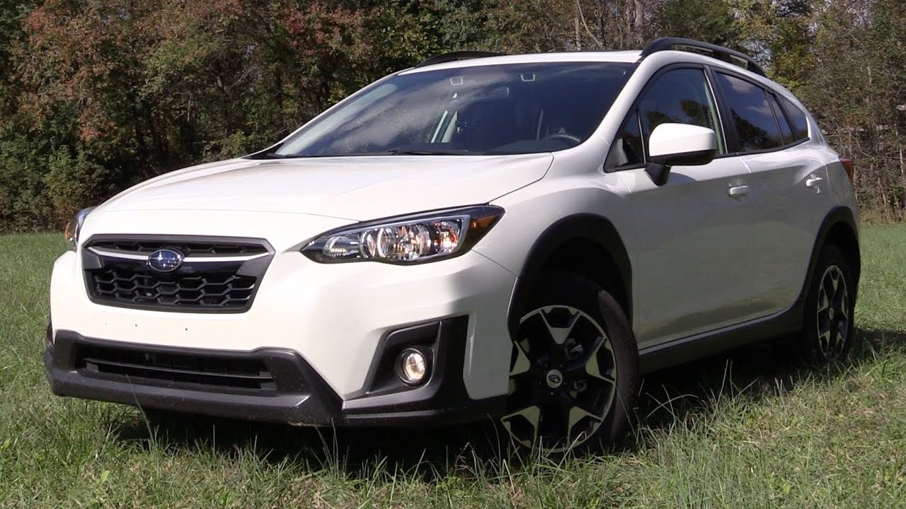2018 subaru crosstrek start up test drive in depth. Black Bedroom Furniture Sets. Home Design Ideas