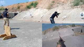 TÜRK POLİSLERDEN ATIŞ ÇALIŞMASI AK 47 shooting work from turkish cops ak 47