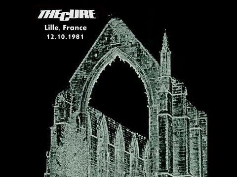 The Cure 12/10/81 live Lille-France Part 1