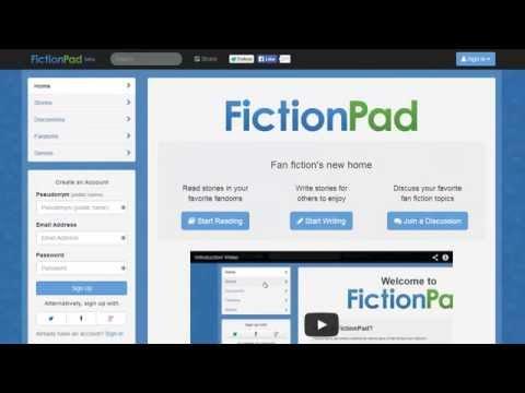 Stories on FictionPad