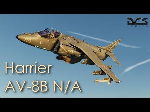 DCS World - AV-8B Harrier First Flight/Preview