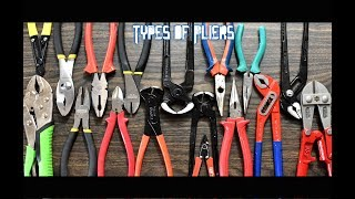 Types of Pliers and their uses | DIY Tools