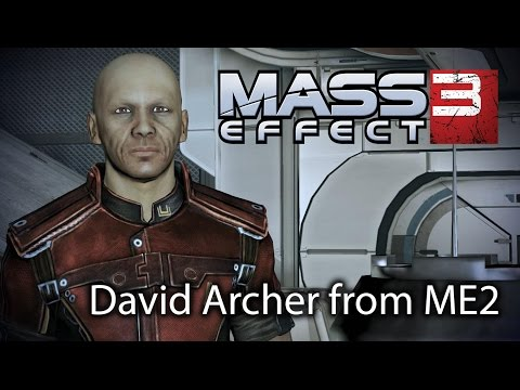 Mass Effect 3 — David Archer In Grissom Academy (ME2: DLC Overlord) [RU]