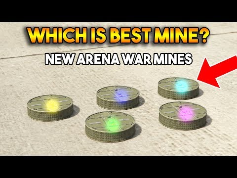 GTA 5 ONLINE : WHICH IS BEST PROXIMITY MINE? (FROM ARENA WAR DLC) thumbnail